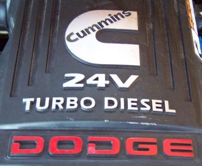 24V Dodge Cummins Turbo Diesel