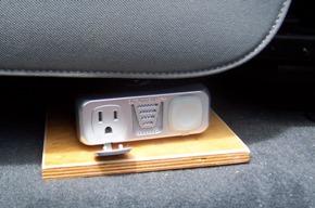 in cab laptop inverter