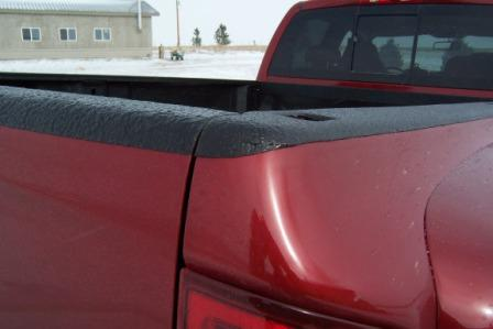 red truck bed liner spray 1