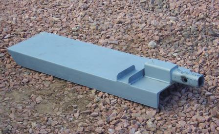 Motorcycle carrier ramp detail