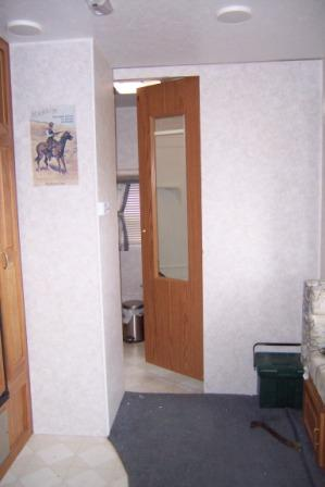 Improving An Rv Bathroom Door