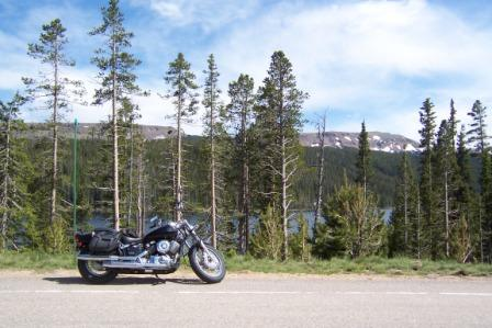 Yamaha in the Rockies