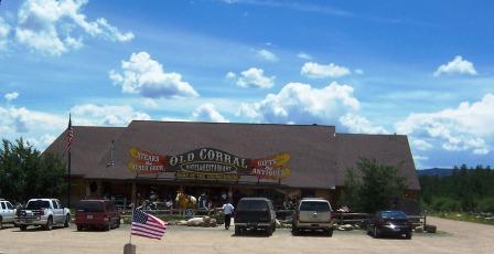 Old Corral in Centennial, Wyoming