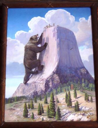 Bear Legend of Devils Tower