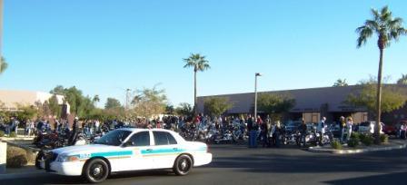 Glendale Police Escort
