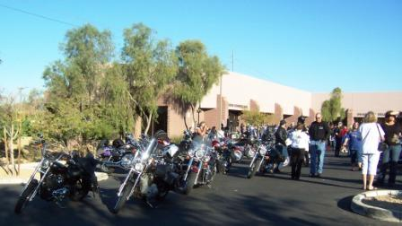 Slick in Line for the Poker Run