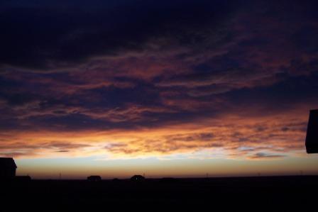 Nunn Colorado Sunrise