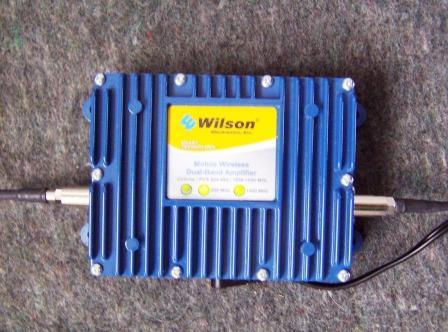 Dual Band Wireless Amplifier
