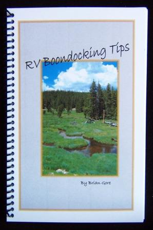 RV Boondocking Tips Book