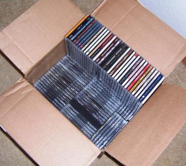 CD Collection in a box