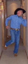 iPOD Dancing Cowboy