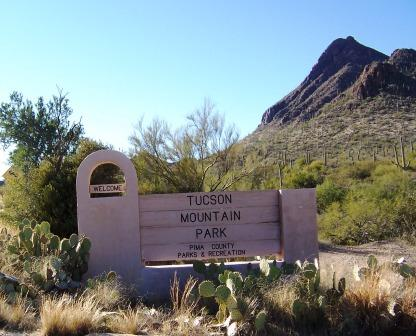 Tucson Mountain Entrance