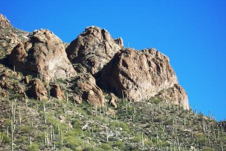 A Tucson Mountain Peak