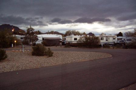 Gathering Arizona Storm