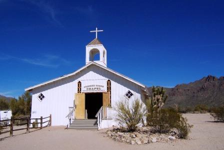 Crooked Creek Church at Old Tucson