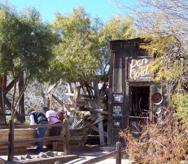 Old Tucson Gold Panning