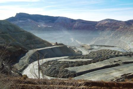 Spencer Mine by Silver City