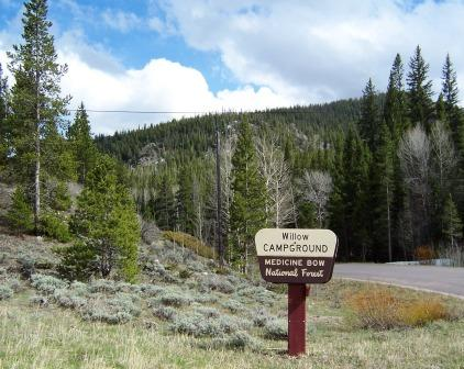 Willow Campground Medicine Bow National Forest