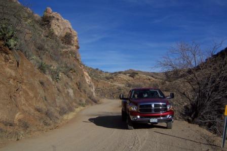 Big Red near Madera Canyon
