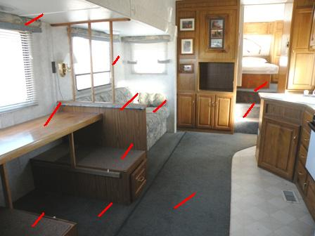 Rv remodeling demolition is the first step in an rv remodel How to renovate old furniture