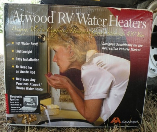Atwood Water Heater Box