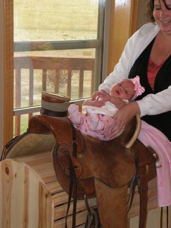 Baby Bronc Rider