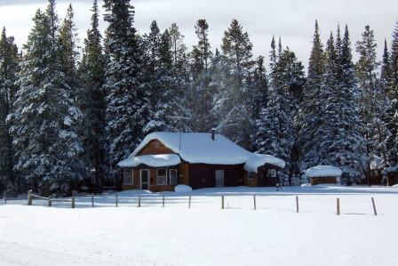 Cabin in the Snowy Range
