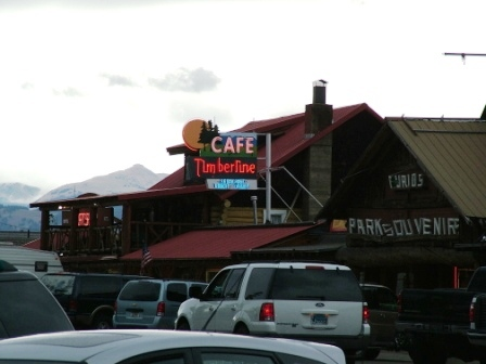 Timberline Cafe, West Yellowstone, Montana