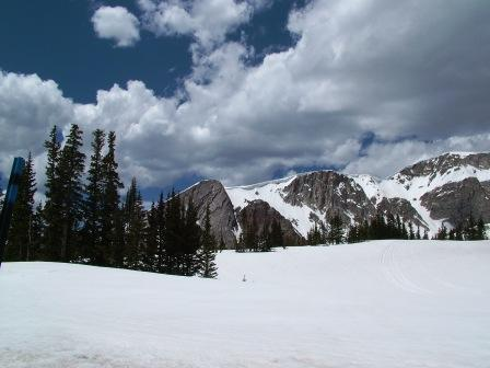 Late WInter on top of Snowy Range Pass