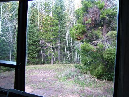 desk view in Willow Camp
