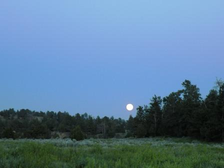 Wyoming Full Moon