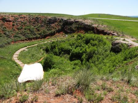 Vore Buffalo Jump Site
