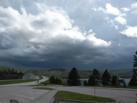 Threatening Storm in the Black Hills