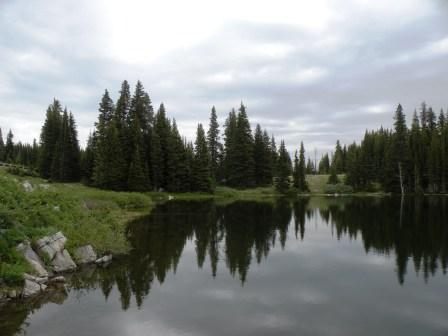 High Mountain Lake to Heal Your Soul