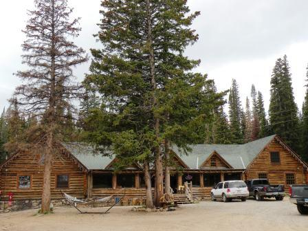 Snowy Mountain Lodge west of Laramie Wyoming