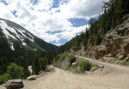 Fall River Road Switchback