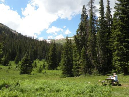 Pic Nik Spot in Rocky Mountain National Park