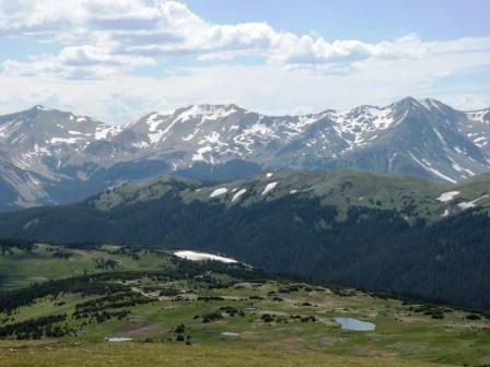 High in Rocky Mountain National Park