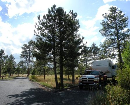 Canyon Rim Campground, Flaming Gorge National  Recreation Area