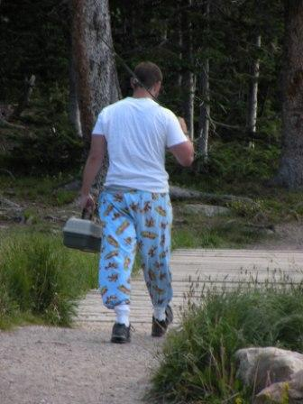 High Fashion in the Uinta Mountains