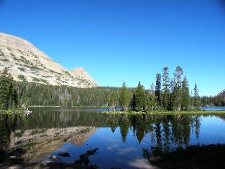 Mirror Lake in the Uintas