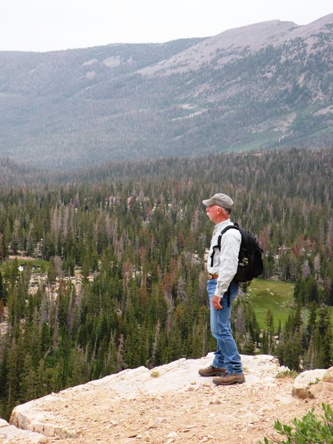 High in the Uinta Mountains