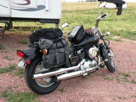 Yamaha V Star Loaded for Yellowstone