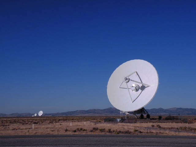 VLA system in New Mexico