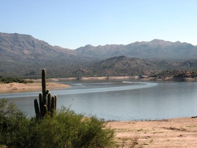 Bartlett Reservoir view