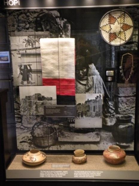 museum artifacts at Tusayan Museum