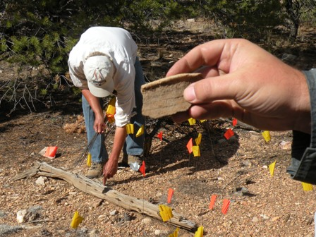 archaeologists at the Grand Canyon