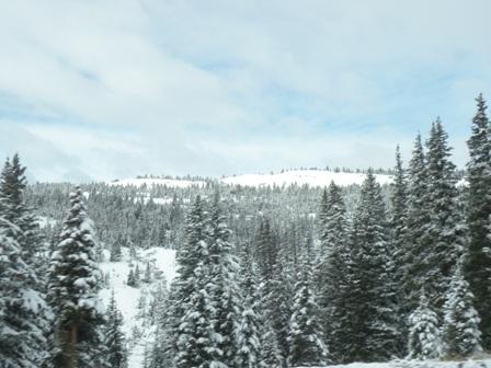 Mountains around Vail