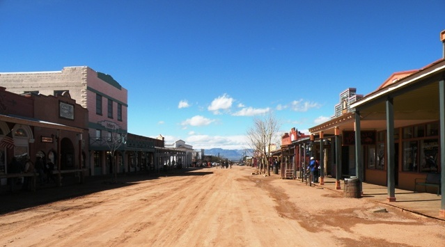 Allen Street in Tombstone