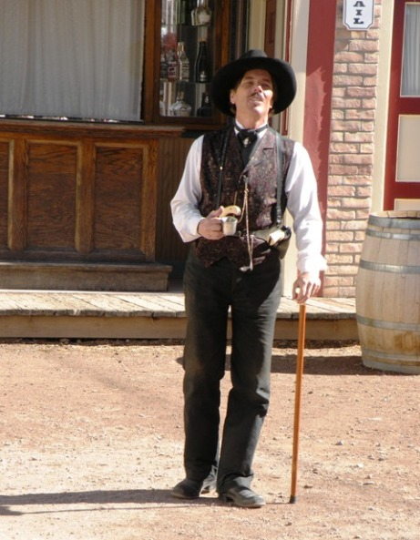 Doc Holliday at the OK Corral